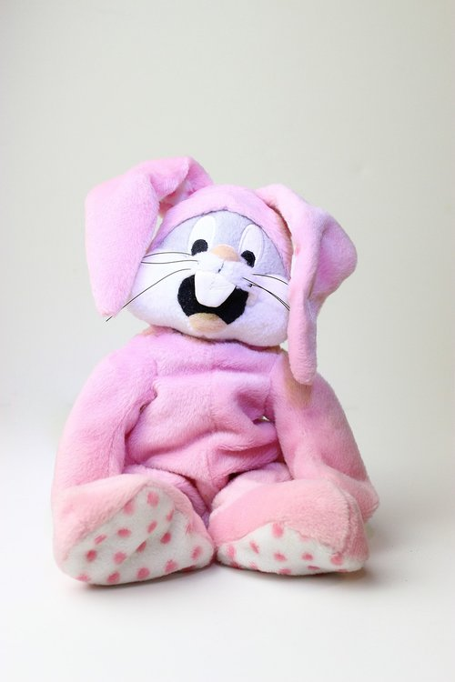 plush  plush toy  bunny