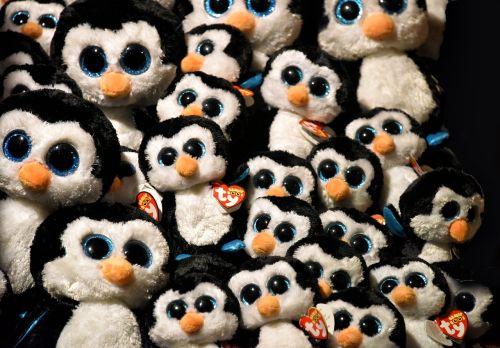 plush toy penguin