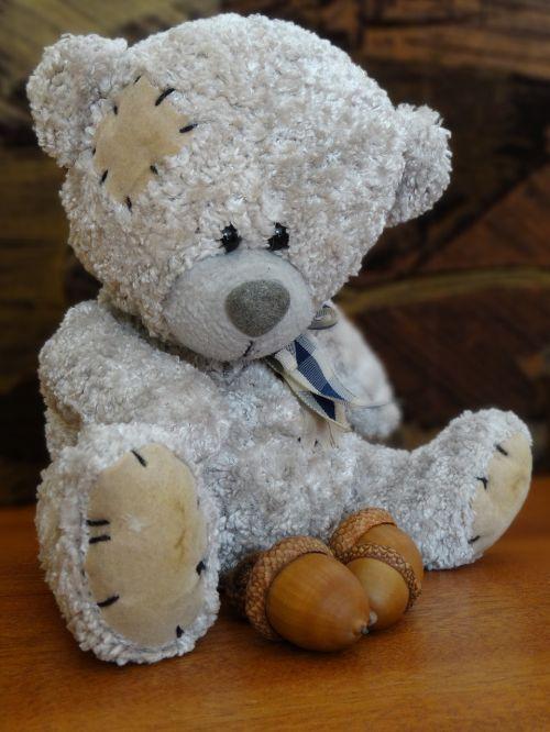plush mascot cuddly teddy bear