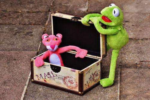 plush toys kermit the pink panther