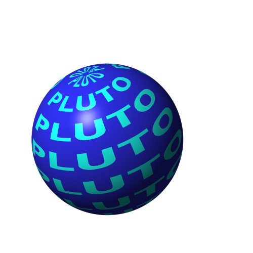 pluto planet space