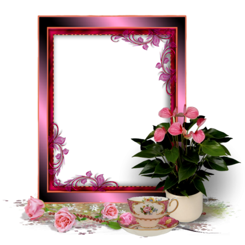 png good morning picture frame