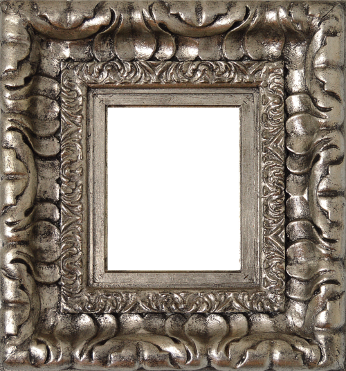 png silver frame silver