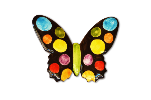 png ceramic butterfly colors
