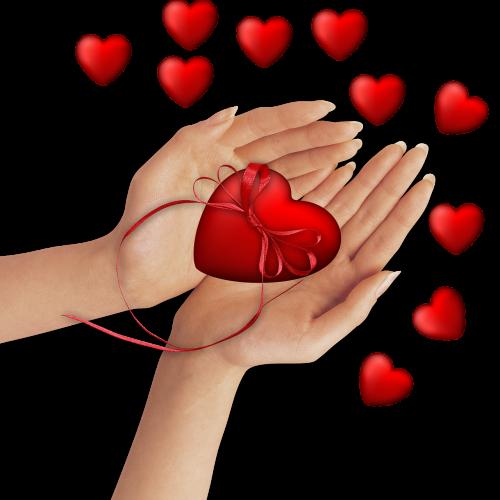 png image hands heart
