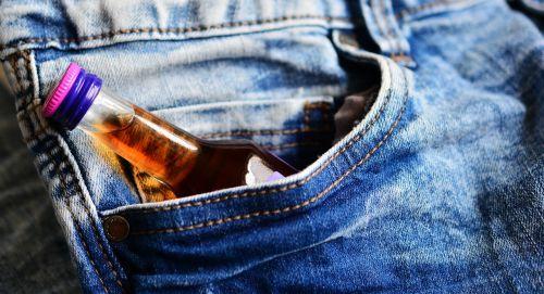 pocket hip flask brandy