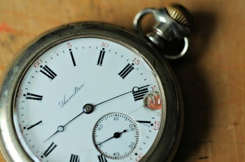 pocket watch time antique