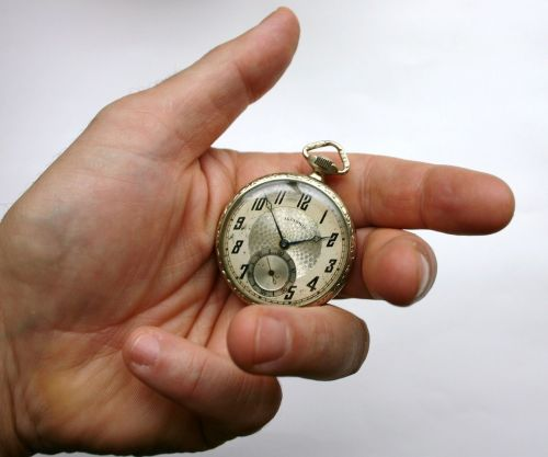 pocket watch time vinatge