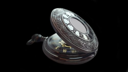 pocket watch clock time