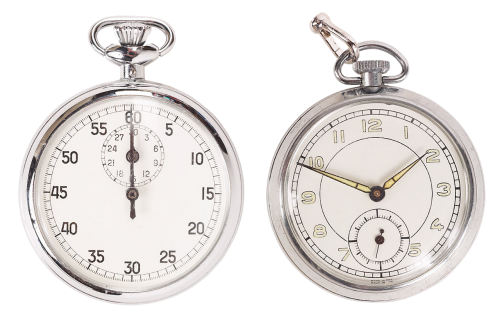 pocket watch mechanical watch arrows