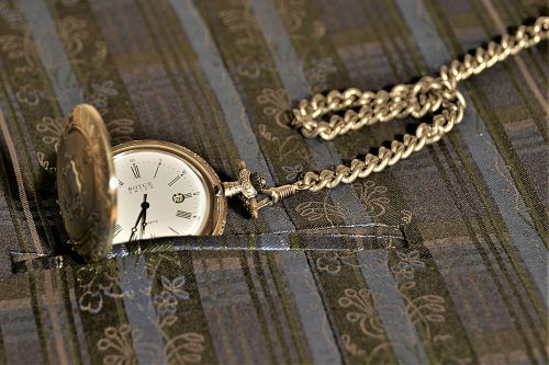 pocket watch jump deckeluhr chain