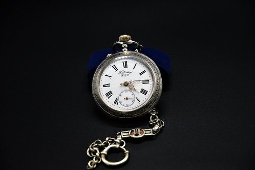 pocket watch  old  dial