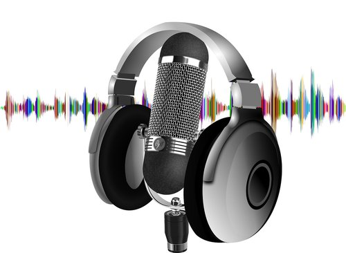 podcast  headset  microphone
