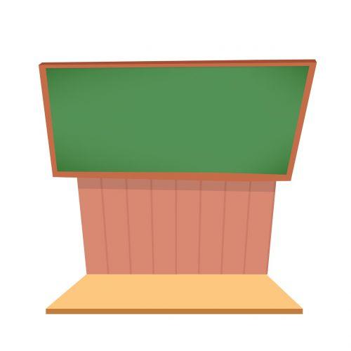 podium meeting illustration