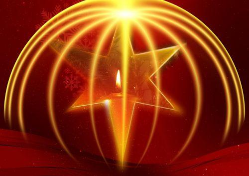 poinsettia advent star