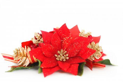 Poinsettia Decoration