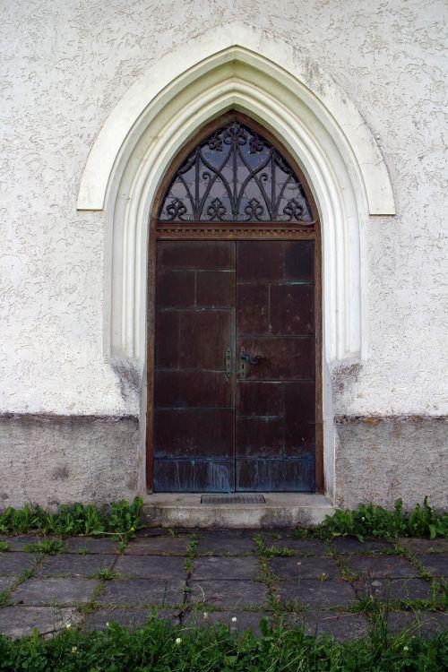 pointed arch entrance door door