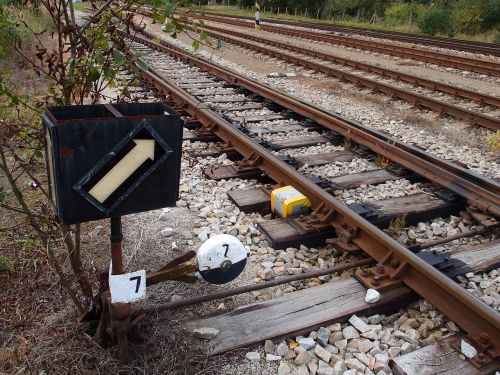 points track railway