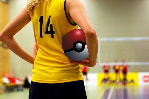 pokémon go pokemon volleyball