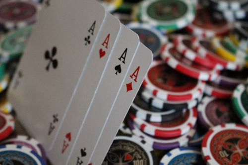 poker game money