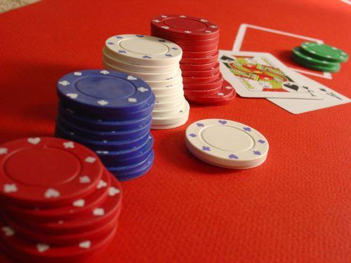poker blackjack chips