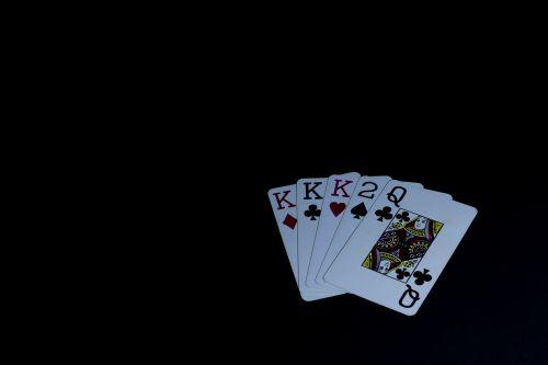 poker table deck