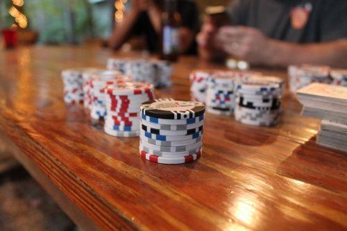 poker poker chips cards