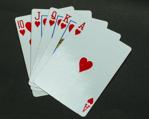 poker cards casino