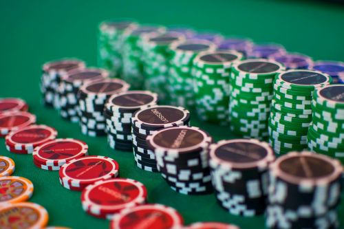 poker gamble chips