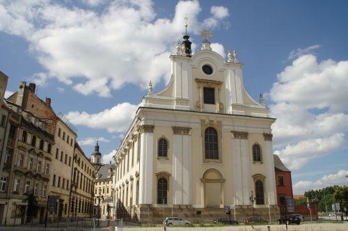 poland wroclaw church