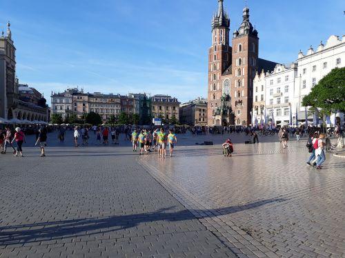 poland krakow europe