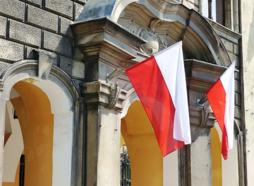 poland flag the nation