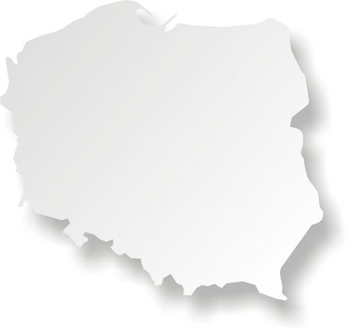 poland map maps