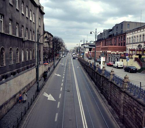 poland kraków street