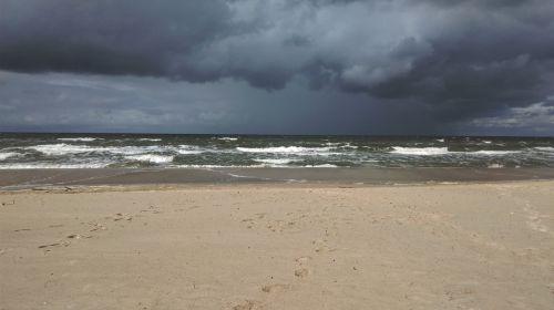 poland the baltic sea the coast