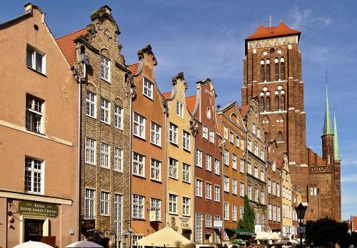 poland gdansk st mary's church