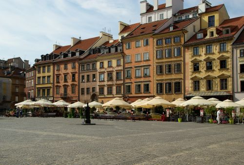 poland warsaw old town