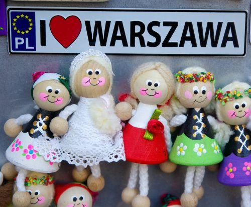 poland warsaw dolls