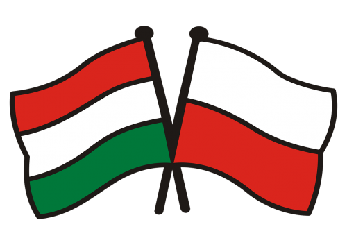 poland hungary flags national colors