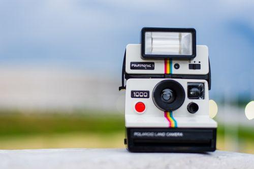 polaroid camera photography