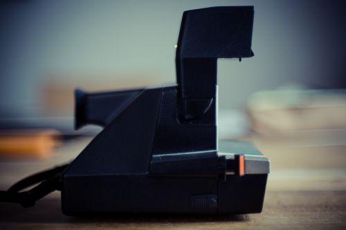 polaroid camera right away