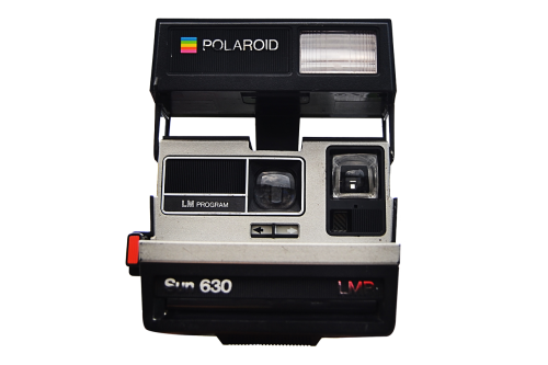 polaroid camera photo