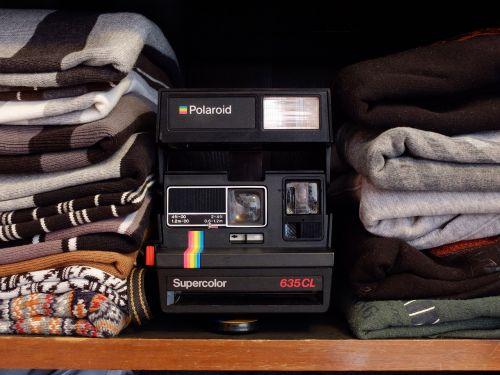 polaroid fashion camera