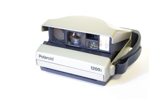 polaroid analog camera