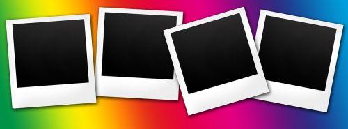 polaroid rainbow instant camera