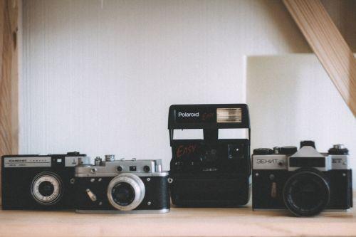 polaroid camera slr