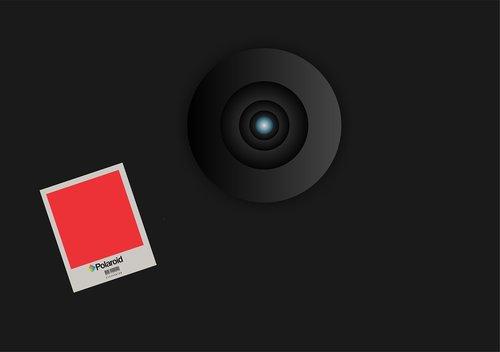 polaroid  graphic  icon