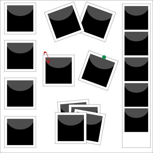Polaroids Clip-art