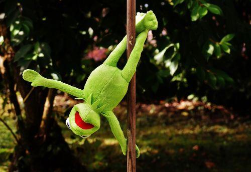 pole dance kermit funny