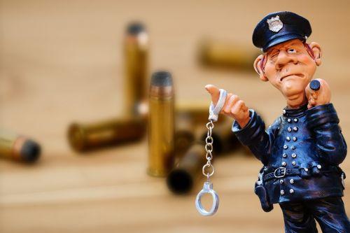 police crime scene cartridges